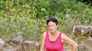 Claire Grignon Dirigeante chez OPTISOCIALES témoignage de son expérience d'Outdoor Business Coaching avec D'un Pas Décidez