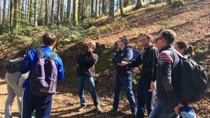 Une journée de business coaching en équipe en plein air avec l'entreprise IHLE à Strasbourg, Alsace, pour travailler la cohésion et développer l'esprit d'équipe avec JADE AIR, notre formule innovante de coaching d'équipe outdoor.