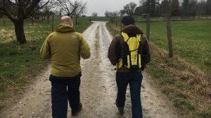 Une journée de business coaching individuel pour les dirigeants de l'entreprise 14eight basée à Mulhouse, Alsace et prendre du recul et de la hauteur en marchant avec son coach et JADE OR, notre formule innovante de coaching individuel outdoor