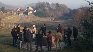 Une journée de business coaching en équipe en plein air avec l'entreprise ACCELINN à Mulhouse pour travailler la cohésion et l'esprit d'équipe avec JADE AIR, notre formule innovante de coaching d'équipe outdoor.