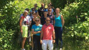 La nouvelle cuvée de lauréats Réseau Entreprendre Alsace prête à se bonifier suite à une journée d'Outdoor Business Coaching en équipe avec D'un Pas Décidez