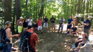Entreprendre en Alsace avec Réseau Entreprendre Alsace découvre l'outdoor coaching avec D'un Pas Décidez