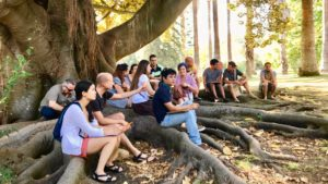 Coaching d'équipe multiculturelle de l'entreprise CTE WIND dirigée par Alexander Martin à Lisbonne avec D'un Pas Décidez et l'outdoor business coaching
