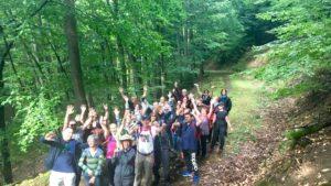 La SOMCO Mulhouse, Alsace fait du business outdoor coaching avec D'un Pas Décidez