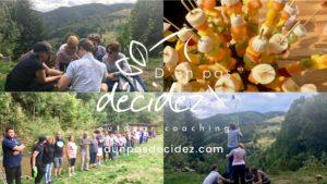 Journée de cohésion et outdoor business coaching avec l'entreprise SOMCO de Mulhouse en Alsace.
