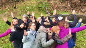 Les comités de direction des entreprises Alsaciennes SOMCO et Habitat de l'Ill bénéficient d'un accompagnement outdoor business coaching avec D'un pas Décidez
