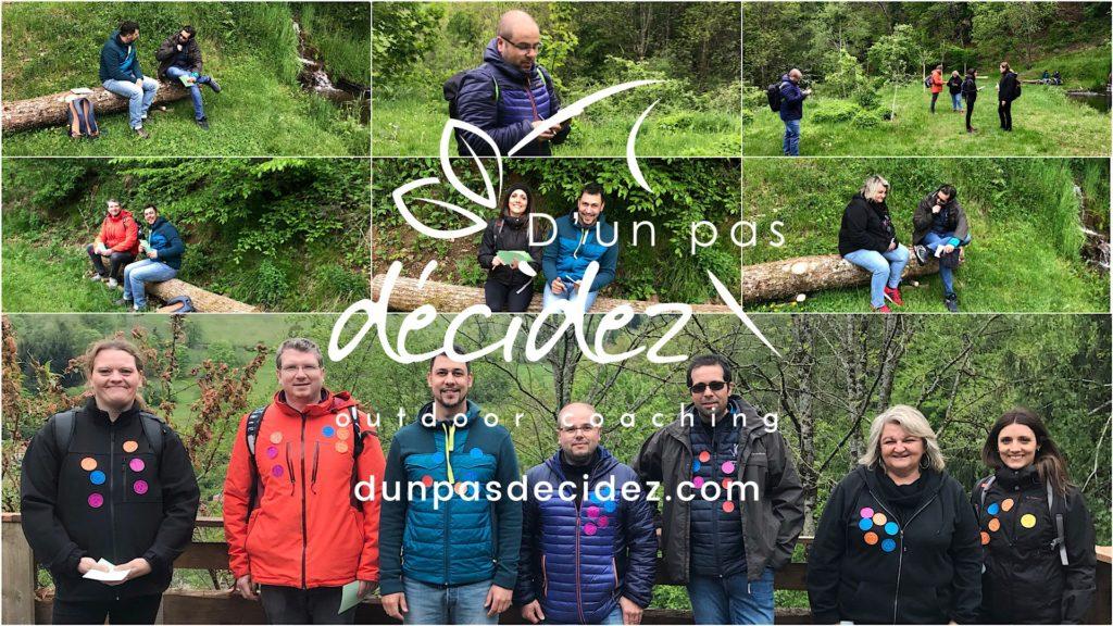 La SCOP MAURER TEMPE en Alsace bénéficie d'un accompagnement outdoor business coaching avec D'un pas Décidez