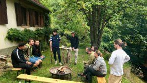 La startup HopLunch en Alsace bénéficie d'un accompagnement outdoor business coaching avec D'un pas Décidez