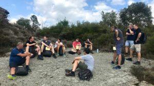 L'ExCo de l'entreprise BIHR bénéficie d'un accompagnement outdoor business coaching en Espagne avec D'un pas Décidez