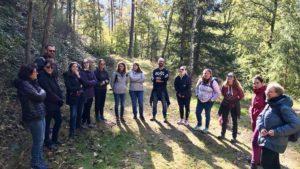 Le CEP CICAT en Alsace bénéficie d'un accompagnement outdoor business coaching avec D'un pas Décidez
