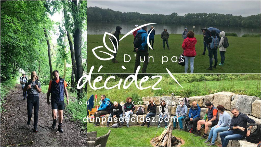 L'entreprise HAGER en Alsace bénéficie d'un accompagnement outdoor business coaching avec D'un pas Décidez